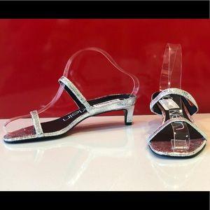 Calvin Klein new Demenica open toe slip on's